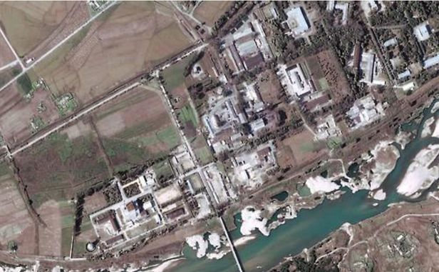 북한 영변 핵시설 단지. /EPA 연합뉴스